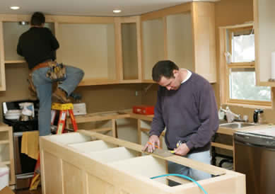 Adding value to your house by refitting the kitchen