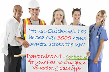 HQS has helped over 3000 home owners across the UK (England, Scotland and Wales) sell without paying fees